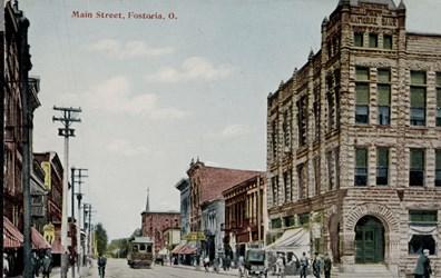 Main Street, Fostoria, O.