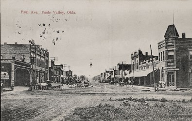 Paul Ave., Pauls Valley, Okla.