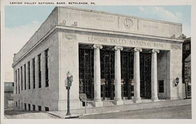 Lehigh Valley National Bank, Bethlehem, PA.