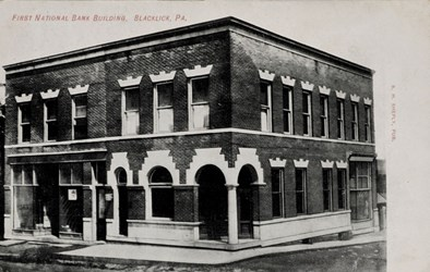 First National Bank Building, Blacklick, PA.