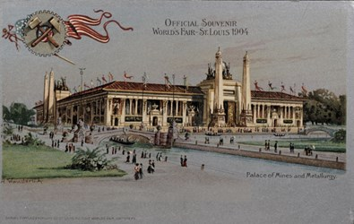 Official Souvenir World's Fair - St. Louis 1904, Palace of Mines and Metallurgy