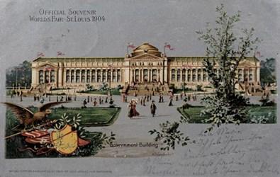 Official Souvenir World's Fair - St. Louis 1904, Government Building