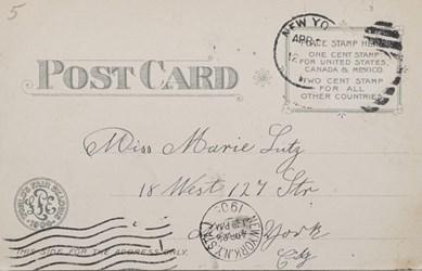 Reverse side: Official Souvenir World's Fair - St. Louis 1904, Government Building