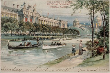 Official Souvenir Postal Card, Grand Lagoon