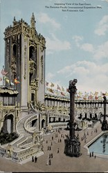 Imposing View of the East Court, The Panama-Pacific International Exposition 1915, San Francisco, Cal.