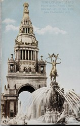 Tower of Jewels and Fountain of Energy, Pan.-Pac.-Int. Exposition, San Francisco, 1915