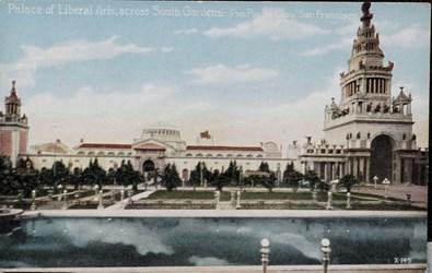Palace of Liberal Arts, across South Gardens. - Pan. Pac. Int. Expo. San Francisco