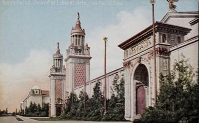 South Portal, Palace of Liberal Arts, Pan. Pac. Int. Expo.