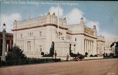 New York State Building, Pan. Pac. Int. Expo. San Francisco