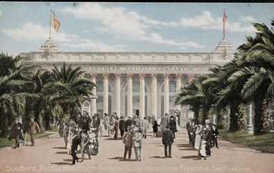 Southern Pacific Building ~ Panama-Pacific International Exposition, San Francisco.