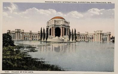 Panama-Pacific International Exposition, San Francisco, 1915. Palace of Fine Arts.