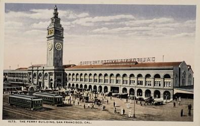 Panama-Pacific International Exposition, San Francisco, 1915. The Ferry Building, San Francisco, Cal.