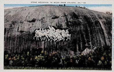 Stone Mountain, 16 miles from Atlanta, GA.