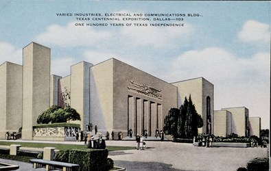 Varied Industries, Electrical and Communications Bldg., Texas Centennial Exposition, Dallas�103