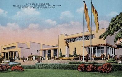 Live Stock Building, Texas Centennial Exposition, Dallas�106