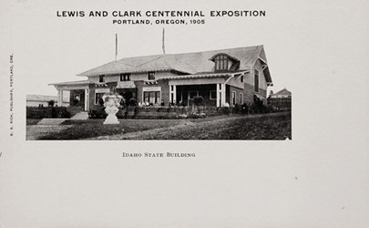 Lewis and Clark Centennial Exposition, Portland, Oregon, 1905, Idaho State Building