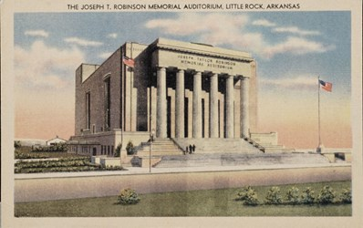 The Joseph T. Robinson Memorial Auditorium, Little Rock, Arkansas