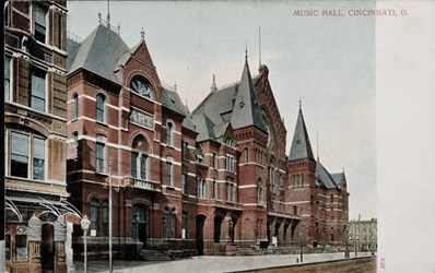 Music Hall, Cincinnati, O.