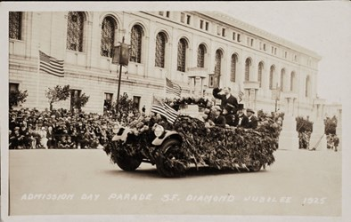 Admission Day Parade S.F. Diamond Jubilee 1925
