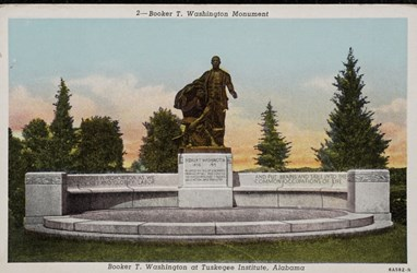 Booker T. Washington Monument at Tuskegee Institute, Alabama