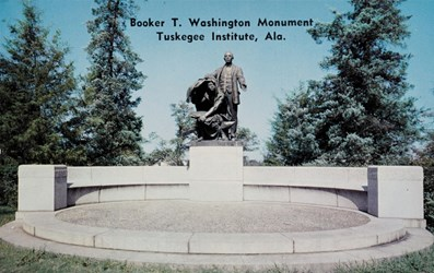 Booker T. Washington Monument,Tuskegee Institute, Ala.