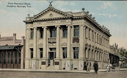 First National Bank, Sulphur Springs, Tex.