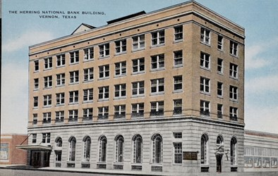 The Herring National Bank Builidng, Vernon, Texas