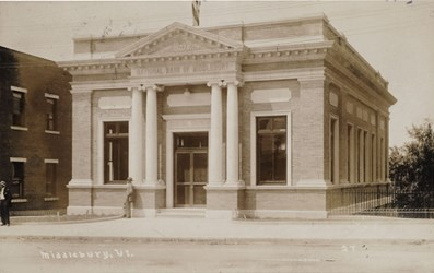 National Bank of Middlebury. VT.