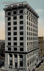 First National Bank, Fort Worth, Texas.