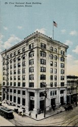 The First National Bank Building, Houston, Texas.