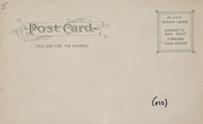 Reverse side: 2757- Farmer's National Bank, Pittsburg, Pa.