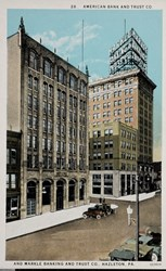 28. American Bank and Trust Co. and Markle Banking and Trust Co., Hazleton, PA.