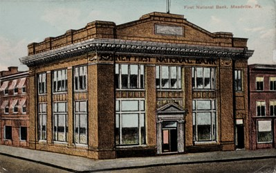 First National Bank, Meadville, Pa.