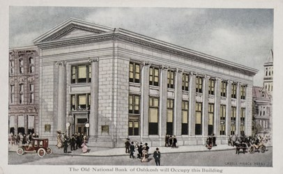 The Old National Bank of Oshkosh will Occupy this Building