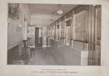 Banking Rooms of Loan and Trust Savings Bank