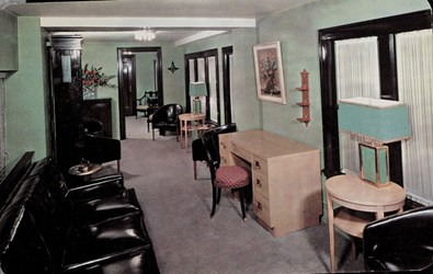 Ladies Lounge of Canton National Bank, Canton, Ohio