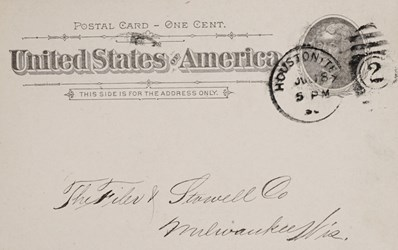 Postal Card - One Cent United States of America