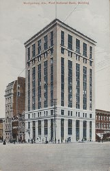 Montgomery Ala., First National Bank, Building