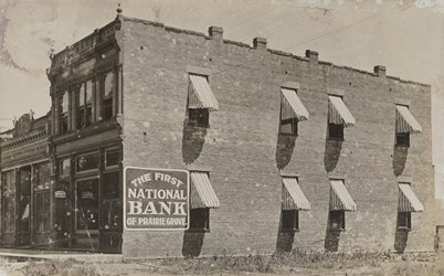 The First National Bank of Prairie Grove