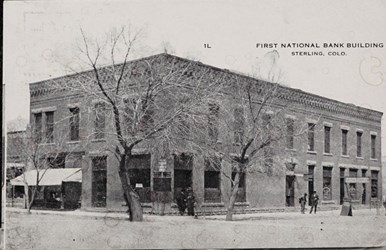 First National Bank Building, Sterling, Colo.