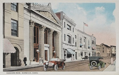 Bankers Row, Norwich, Conn.