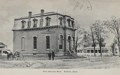 First National Bank, Suffield, Conn.