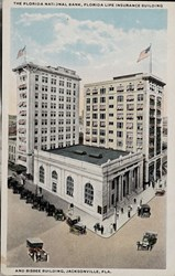 The Florida National Bank, Florida Life Insurance Building and Bisbee Building, Jacksonville, Fla.