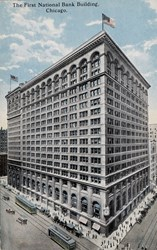 The First National Bank Building, Chicago.