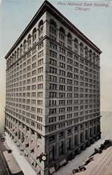 First National Bank Building, Chicago.