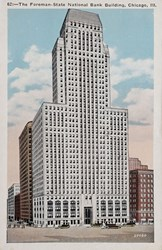 The Foreman-State National Bank Building, Chicago, Ill.