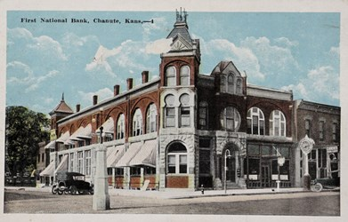 First National Bank, Chanute, Kans.