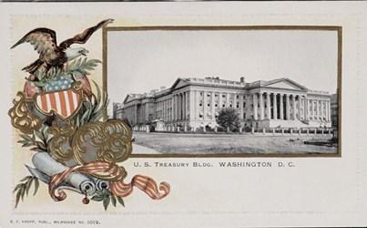 U.S. Treasury Bldg. Washington D.C.
