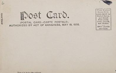 Reverse side: The Treasury, Washington, D.C.