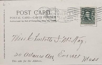 Reverse side: United States Treasury�Washington, D.C.